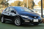 2012 Honda Civic 9th Gen VTi-S Black 5 Speed Sports Automatic Hatchback Berwick Casey Area Preview