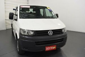 2013 Volkswagen Transporter T5 MY13 TDI400 LWB DSG White Sports Automatic Dual Clutch Cab Chassis