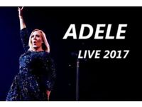 Adele x 4 tickets. Final concert 2 July. £150 each