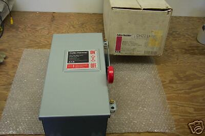 CUTLER-HAMMER DH221NDK SAFETY SWITCH DISCONNECT 30A  NEW IN BOX