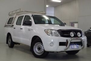 2010 Toyota Hilux KUN16R MY10 SR White 5 Speed Manual Utility Myaree Melville Area Preview