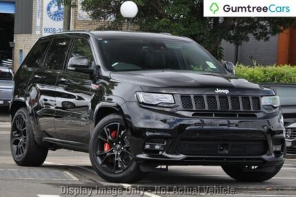 2017 Jeep Grand Cherokee WK MY17 SRT Diamond Black 8 Speed Sports Automatic Wagon