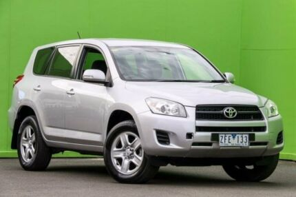 2012 Toyota RAV4 ACA33R MY12 CV Silver 4 Speed Automatic Wagon Ringwood East Maroondah Area Preview