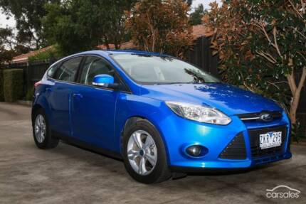 2012 Ford Focus Hatchback Auto (one owner)