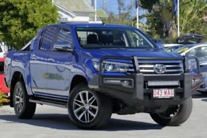 2015 Toyota Hilux GUN126R SR5 Double Cab Blue 6 Speed Manual Utility Toowong Brisbane North West Preview