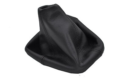 black stitch FITS HUMMER H3 05-11 AUTOMATIC LEATHER SHIFT BOOT