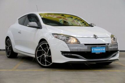 2011 Renault Megane III D95 R.S. 250 Cup White 6 Speed Manual Coupe