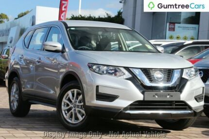 2017 Nissan X-Trail ST ST Brilliant Silver Constant Variable Wagon