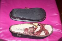 womens 36 .. 6.5 Alegria by PG Lite leather sandals sandles EUC
