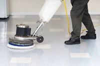 Floorcare/Janitorial maint: Competitive pricing best service