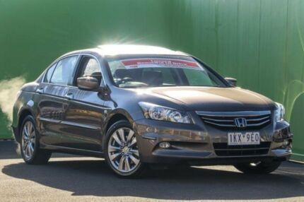 2012 Honda Accord 8th Gen MY12 Limited Edition Bronze 5 Speed Sports Automatic Sedan Ringwood East Maroondah Area Preview