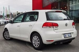2011 Volkswagen Golf 1K MY11 90 TSI Trendline White 7 Speed Auto Direct Shift Hatchback