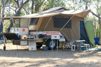 Kimberley Kamper camper trailer hire Blue Mountains Sydney
