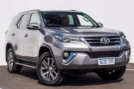2016 Toyota Fortuner GUN156R Crusade Silver 6 Speed Automatic Wagon