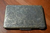 Three Early 1900's Silver Cigarette Cases