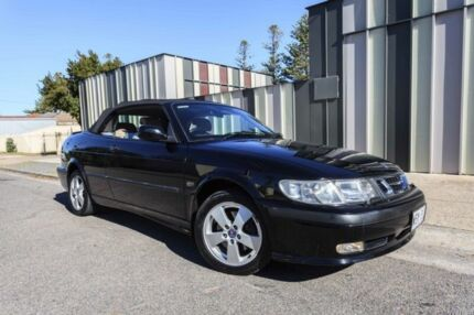 2002 Saab 9-3 MY2002 Aero Black 4 Speed Automatic Convertible Hove Holdfast Bay Preview