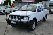 2011 Nissan Navara ST-X D40 White 6 Speed Manual Extracab Delacombe Ballarat City Preview