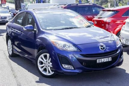2010 Mazda 3 BL10L1 MY10 SP25 Blue 6 Speed Manual Sedan