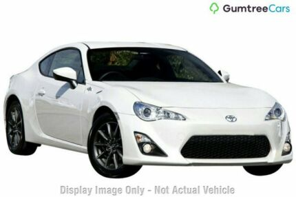 2014 Toyota 86 ZN6 GT Chrystal Pearl/black 6 Speed Sports Automatic Coupe