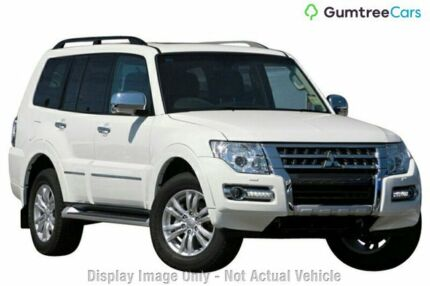 2016 Mitsubishi Pajero NX MY17 Exceed Silver 5 Speed Sports Automatic Wagon Ringwood East Maroondah Area Preview