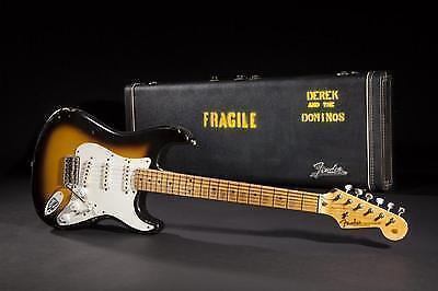 """Die 1956 Fender Stratocaster """"Brownie"""" von Eric Clapton"""