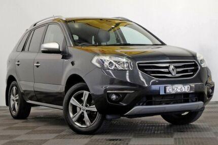 2012 Renault Koleos H45 Phase II Bose Special Edition Grey 1 Speed Constant Variable Wagon