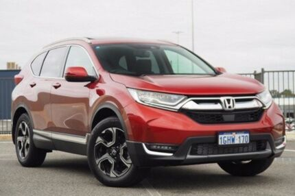 2017 Honda CR-V MY18 VTI-LX (awd) Passion Red Continuous Variable Wagon
