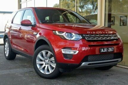 2016 Land Rover Discovery Sport L550 16.5MY SD4 HSE Luxury Firenze Red 9 Speed Sports Automatic
