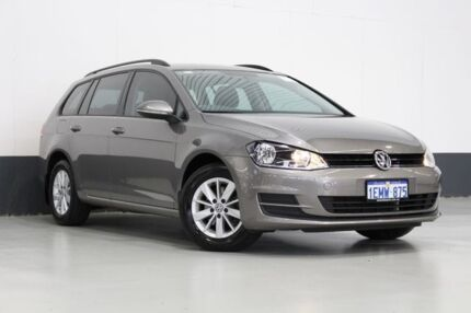 2014 Volkswagen Golf AU MY14 90 TSI Grey 7 Speed Auto Direct Shift Wagon