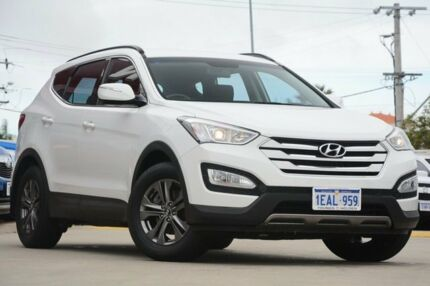 2012 Hyundai Santa Fe DM Active CRDi (4x4) White 6 Speed Automatic Wagon