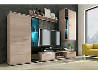 Tv Media Sonoma Oak Furniture and led cabinets.. Due to time wasters and No show still available