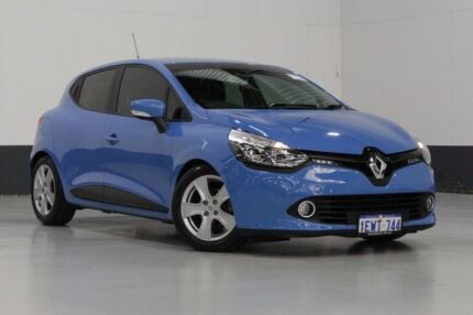 2015 Renault Clio X98 Dynamique Blue 6 Speed Automated Manual Hatchback Bentley Canning Area Preview