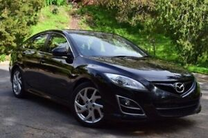 2011 Mazda 6 GH1052 MY10 Luxury Sports Black 5 Speed Sports Automatic Hatchback St Marys Mitcham Area Preview
