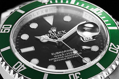 """Always be sure to search for variations, such as """"Rolex Submariner Green"""" as well as reference numbers."""