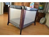 Mamas and Papas Travel Cot / Playpen And Additional Foam Mattress