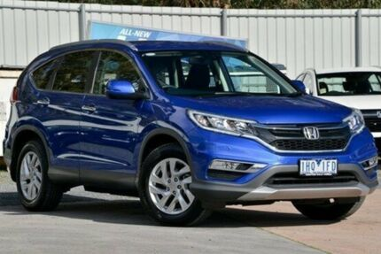 2016 Honda CR-V RM Series II MY17 VTi-S Blue 5 Speed Sports Automatic Wagon