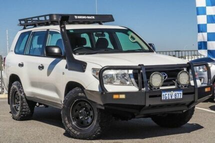 2012 Toyota Landcruiser VDJ200R MY10 GX White Sports Automatic Wagon