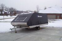 2013 Tritan snowmobile trailer