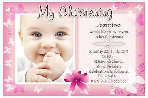 Christening Invitations | Cards & Invites | eBay