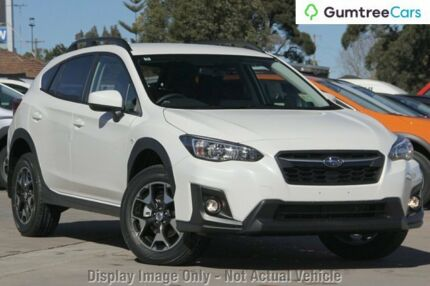 2017 Subaru XV G5X MY18 2.0i Lineartronic AWD Crystal White 7 Speed Constant Variable Wagon