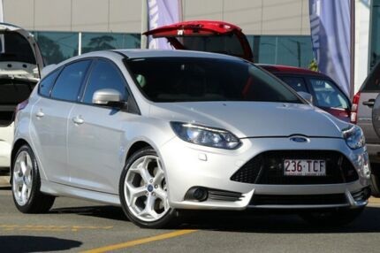 2013 Ford Focus LW MKII ST Silver 6 Speed Manual Hatchback