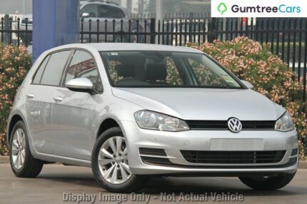 2013 Volkswagen Golf VII 90TSI DSG Comfortline Silver 7 Speed Sports Automatic Dual Clutch Hatchback Hobart CBD Hobart City Preview