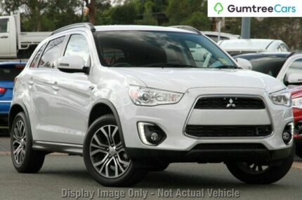 2015 Mitsubishi ASX XB MY15.5 LS 2WD Silver 6 Speed Constant Variable Wagon Moonah Glenorchy Area Preview