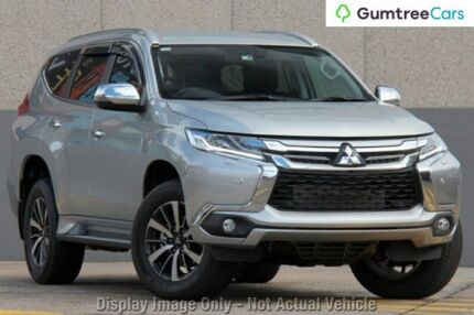 2016 Mitsubishi Pajero Sport QE MY16 Exceed Silver 8 Speed Sports Automatic Wagon