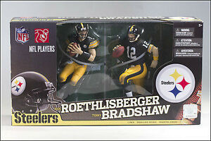 Terry Bradshaw & Ben Roethlisbeger McFarlane 2 Pack at JJ Sports