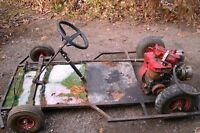 home made go-cart (project)