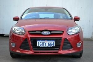 2012 Ford Focus LW Sport PwrShift Red 6 Speed Sports Automatic Dual Clutch Hatchback