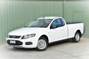 2013 Ford Falcon FG MkII EcoLPi Ute Super Cab White 6 Speed Sports Automatic Utility Berwick Casey Area Preview