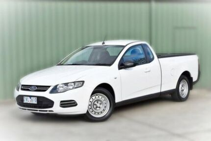2013 Ford Falcon FG MkII EcoLPi Ute Super Cab White 6 Speed Sports Automatic Utility