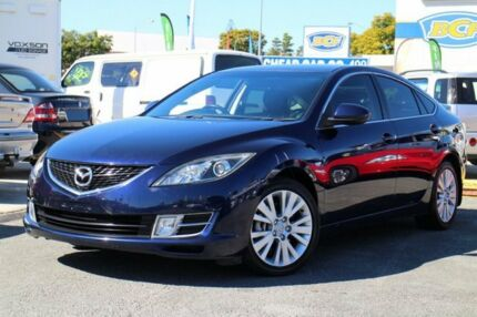 2008 Mazda 6 GH1051 Classic Blue 5 Speed Sports Automatic Hatchback Greenslopes Brisbane South West Preview